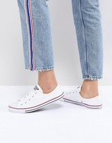 Converse White Chuck Taylor All Star Dainty Sneakers
