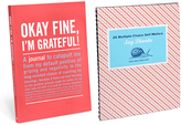 Knock Knock I'm Grateful Inner Truth Journal & Say Thanks Self-Mailers