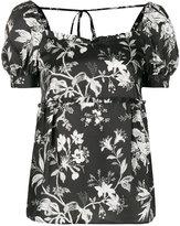 McQ floral print blouse