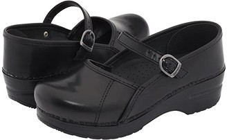 Dansko Marcelle (Black Cabrio) Women's Maryjane Shoes