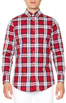 DSQUARED2 Multi-Plaid Long-Sleeve Shirt, Red