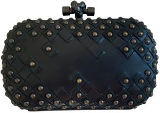 Bottega Veneta Pochette Knot Black Leather Clutch bags