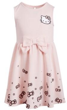 Hello Kitty Helllo Kitty Toddler Girls Scattered Bows Dress