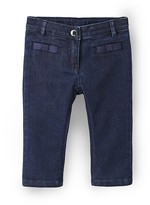 Jacadi Infant Girls' Bow Straight Jeans - Sizes 6-36 Months