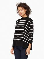 Kate Spade Stripe swing sweater