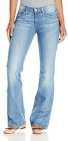 7 For All Mankind Women's Petite Short Inseam Bootcut Jean