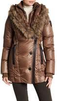 Rudsak Faux Fur Trim Sandra Coat