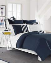 Nautica Aport Cotton Colorblocked King Duvet Set Bedding