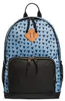 Mossimo Women's Heart Print Nylon Backpack Handbag