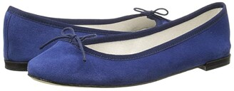 Repetto Cendrillon - Suede Leather (Suede Navy) Women's Flat Shoes