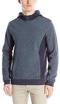 Calvin Klein Jeans Men's Reverse Side Piecing Fleece Hoodie