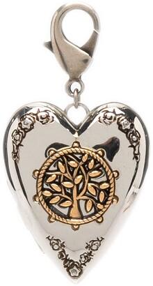 Alexander McQueen Heart-Shaped Keychain