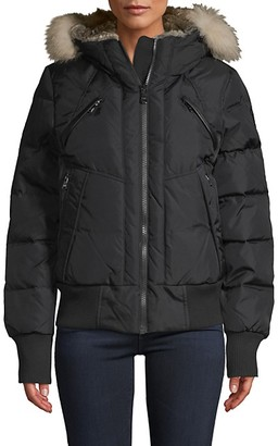Pajar Fox Fur Faux Fur-Trim Down-Filled Jacket