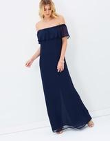 Reverence Off-Shoulder Maxi Dress