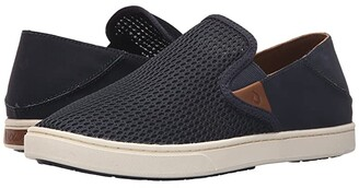 OluKai Pehuea (Black/Black) Women's Slip on Shoes