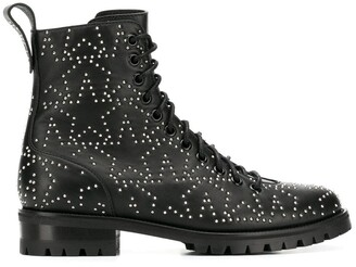 Jimmy Choo Cruz star-studded combat boots