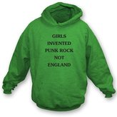 TshirtGrill Girls Invented Punk Rock As Worn By Kim Gordon (Sonic Youth) Hooded Sweatshirt, Color
