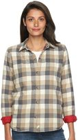 Woolrich Women's Pemberton Fleece-Lined Flannel Shirt