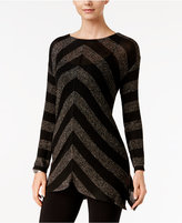 INC International Concepts Metallic Chevron Sweater, Only at Macy's