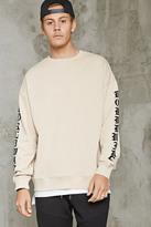Forever 21 Worldwide Graphic Sweatshirt