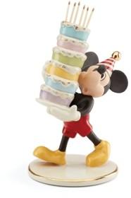 Lenox Mickey Bakes A Cake Figurine