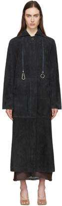 Lemaire Black Suede Jacket