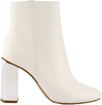 Michael Kors Petra Ankle Boots White