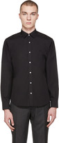 Burberry Black Cambridge Shirt