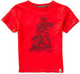 Lucky Brand Little Boys 2T-7 King Biker Slub Jersey Short-Sleeve Graphic Tee