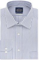 Eagle Men's Big and Tall Classic/Regular Fit Non-Iron Flex Collar Blue Check Dress Shirt