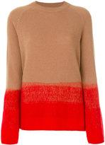 Etro colour block sweater - women - Cotton/Polyamide/Polyester/Wool - 40