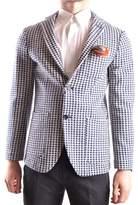 At.P.Co At.p.co Men's Multicolor Cotton Blazer.