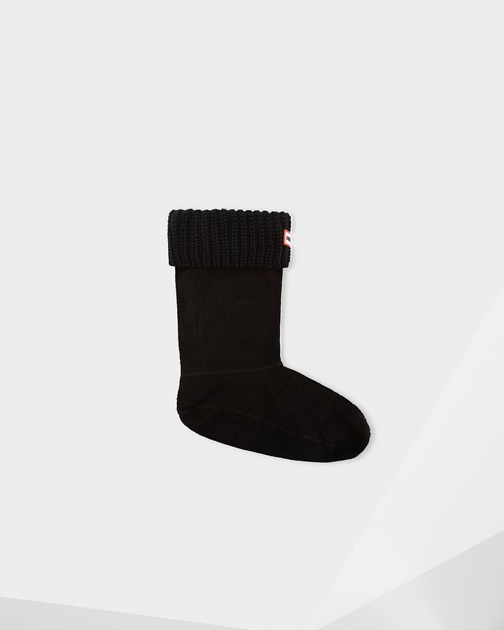 Thumbnail for your product : Hunter Original Half Cardigan Knitted Cuff Short Boot Socks