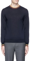 Paul Smith 'Artist stripe' Merino wool sweater