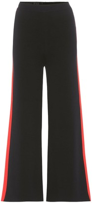 Stella McCartney Cropped cotton trousers