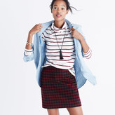 Madewell Buffalo Check Upstate Skirt