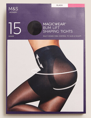 Marks and Spencer 15 Denier Magicwear Matt Body Shaper Tights