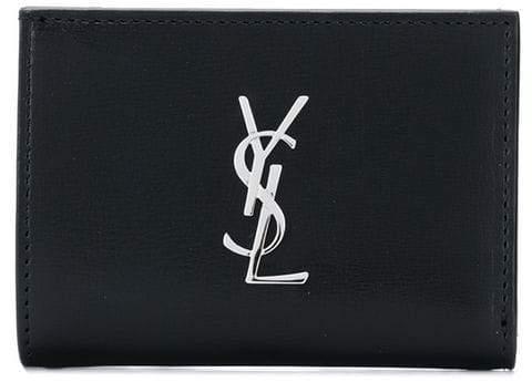 Saint Laurent monogram logo wallet