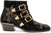 Chloé Velvet Susanna Boots