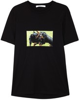 Givenchy Black Rottweiler-print Cotton T-shirt