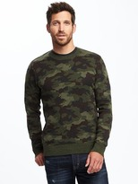 Old Navy Camo-Print Crew-Neck Sweater for Men