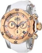 Invicta Women's 16091 Venom Analog Display Swiss Quartz White Watch