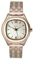 DKNY Round Rose-Gold Steel Bracelet Women's watch #NY8807