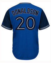 Majestic Men's Josh Donaldson Toronto Blue Jays Blue Steel Cool Base Jersey