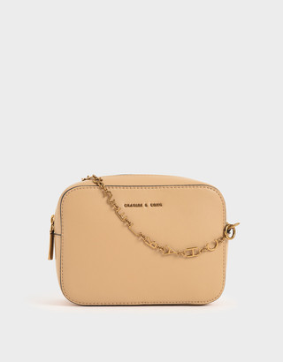 Charles & Keith Chain-Link Rectangular Bag