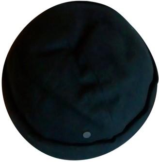 Maison Michel Blue Wool Hats