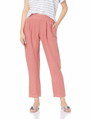 Enza Costa Women's French Linen Easy Pant