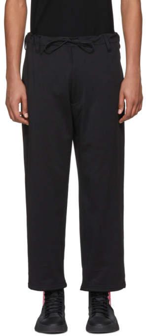 Y-3 Black James Harden Wide Trousers