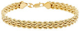 "Eterna As Is EternaGold 7"" Bold Triple Silk Rope Bracelet, 4.4g"