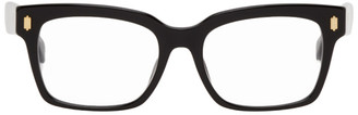 Fendi Black Thick Square Glasses